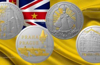 Ниуэ выпустил серию монет Пражские мотивы