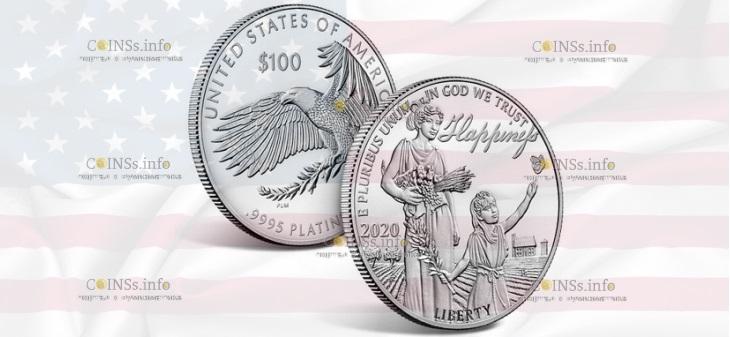 США монета 100 долларов В погоне за счастьем