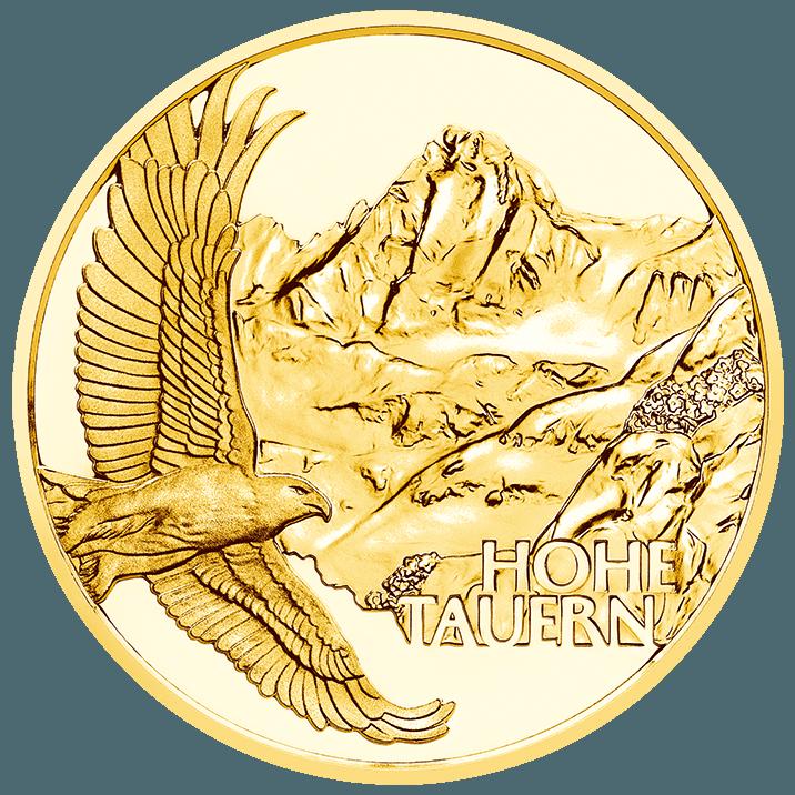 Австрия монета 50 евро Брейя альпийская, реверс