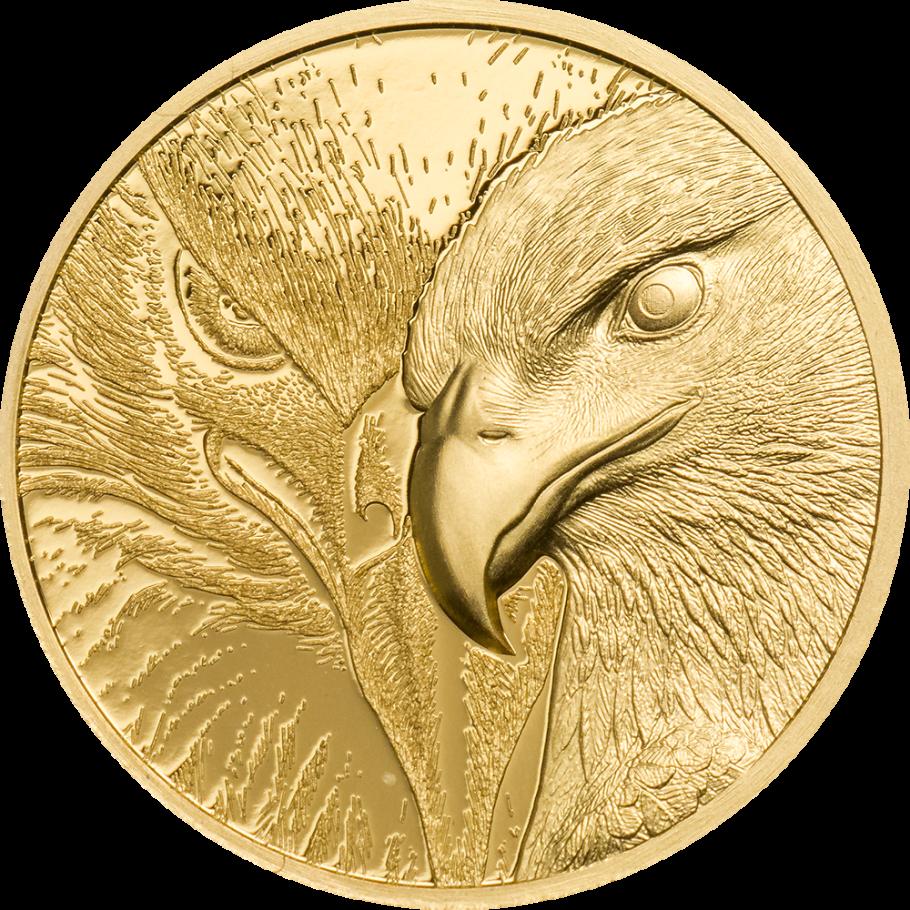 Монголия монета 1 000 тугриков Величественный орел, реверс