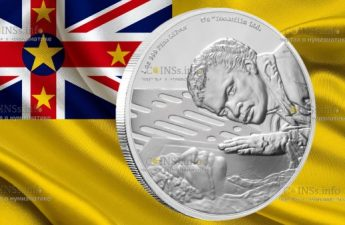 Ниуэ монета 2 доллара Лэндо Калриссиан