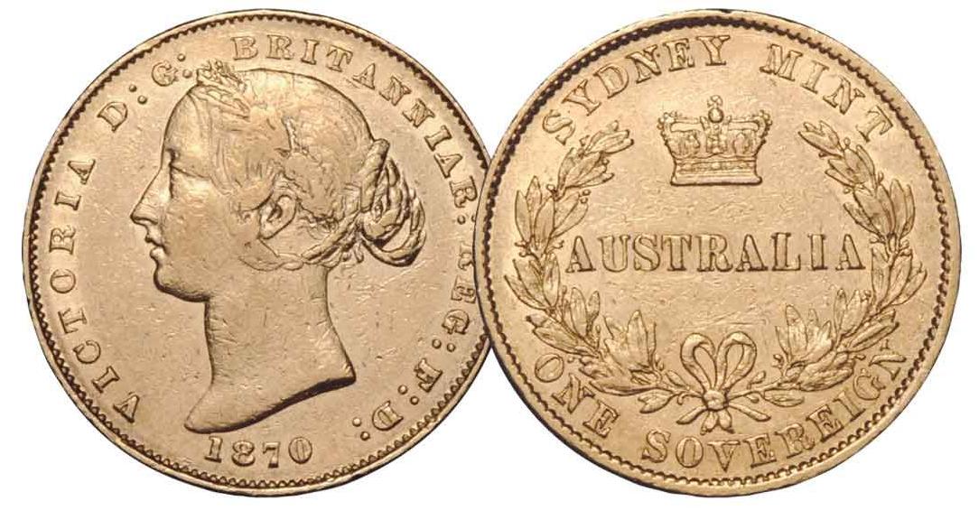 Австралия монета 25 долларов 165 со дня выпуска Первого Соверена, старая монета