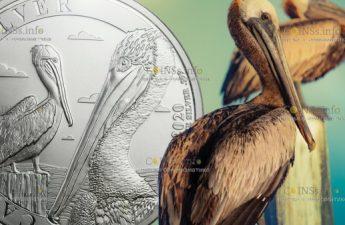 Барбадос выпускает монеты Пеликан