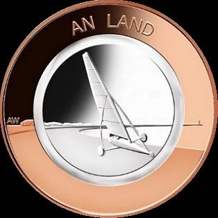 Германия монету 10 евро На суше, реверс