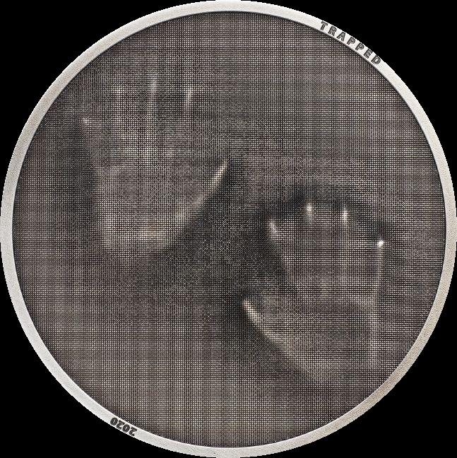 Острова Кука монета 5 долларов Ловушка, реверс