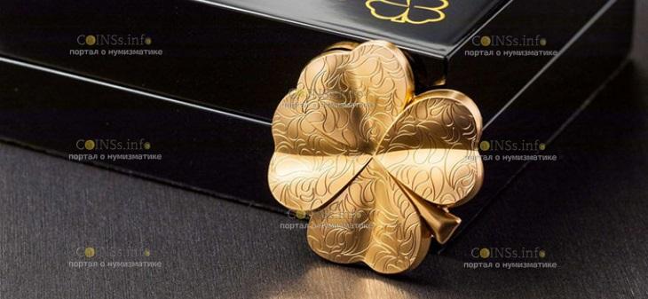 Палау монета 5 долларов Золотая удача