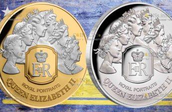 Токелау монеты Королевский портрет