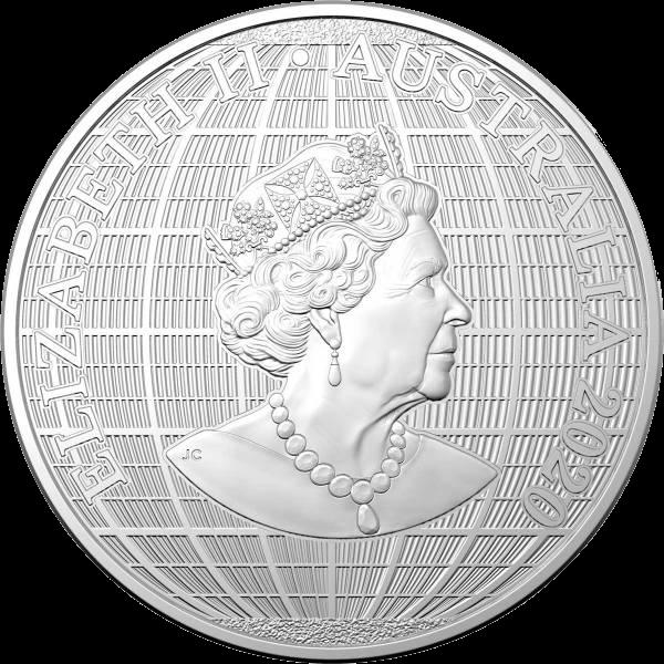 Австралия монета 1 доллар Под южным небом, аверс