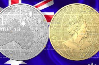 Австралия монеты серии Под южным небом