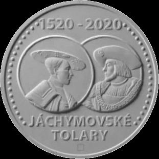 Чехия монета 200 крон Яхимовский толар, реверс
