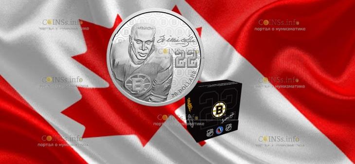 канада монета 20 долларов Вилли О'РИ