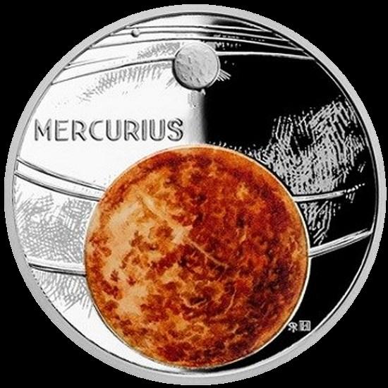 Ниуэ монета 1 доллар Меркурий, реверс