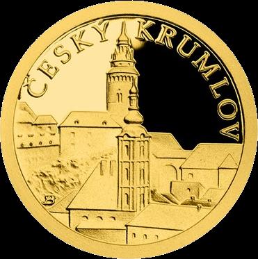 Ниуэ монета 5 долларов Чески-Крумлов, реверс