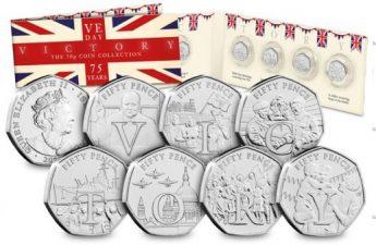 Остров Мэн выпускает серию ходовых монет к 75-летию Победы