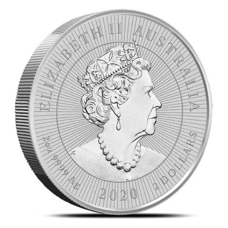 Австралия монета 2 доллара Кукабурра, аверс