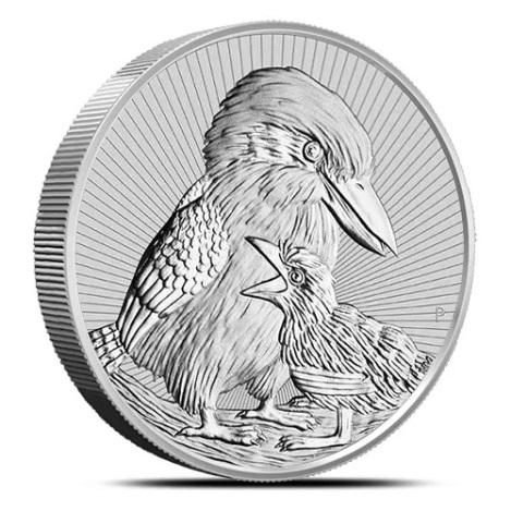 Австралия монета 2 доллара Кукабурра, реверс
