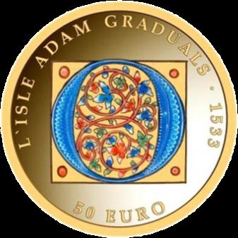 Мальта монета 50 евро Готика, реверс