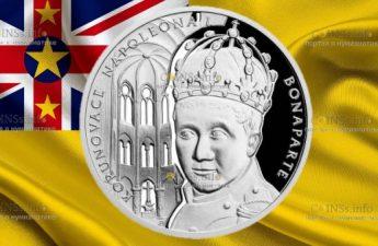 Ниуэ монета 1 доллар Наполеон Бонапарт