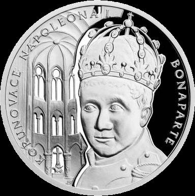 Ниуэ монета 1 доллар Наполеон Бонапарт, реверс