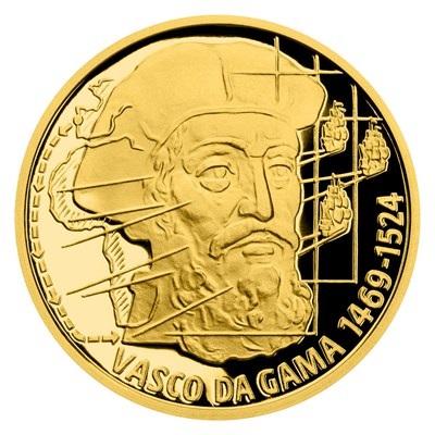 Ниуэ монета 10 долларов 2020 Васко да Гама, реверс