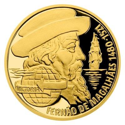 Ниуэ монета 10 долларов Фернан Магеллан, реверс