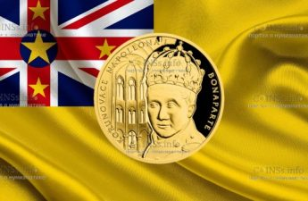 Ниуэ монета 10 долларов Наполеон Бонапарт