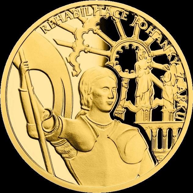 Ниуэ монета 10 долларов Жанна д'Арк - Богородица Орлеанская, реверс