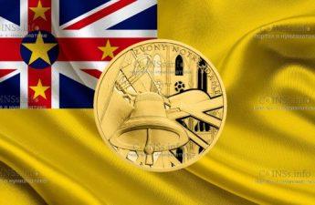 Ниуэ монета 10 долларов Звонница собора Нотр-Дам