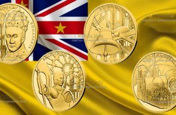 Ниуэ монеты 10 долларов серии Нотр-Дам де Пари