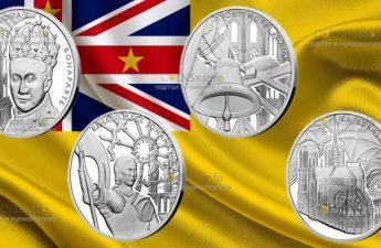 Ниуэ монеты серии Нотр-Дам де Пари