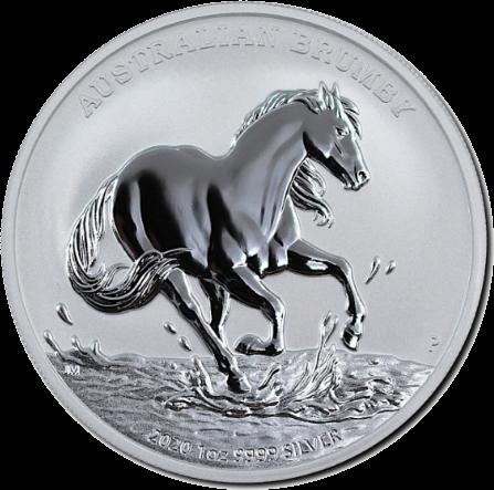 Австралия монета 1 доллар Австралийские Брамби, реверс