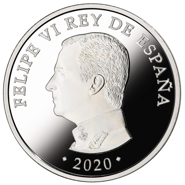 Испания монета 10 евро 100-летие Испанского легиона, аверс