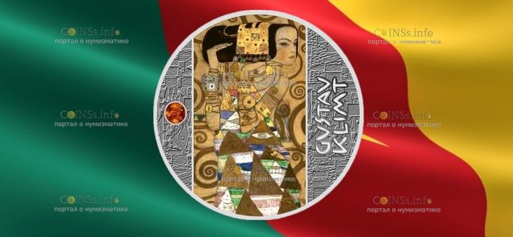 Камерун монета 500 франков КФА Густав Климт