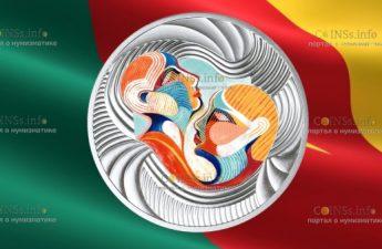 Камерун монета 500 франков КФА Вы и я