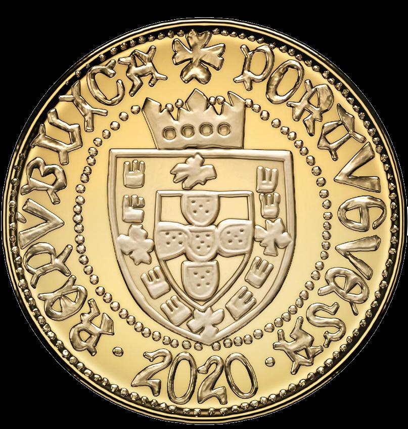 Португалия монета 15 евро Половина Эскудо из Сеуты, аверс