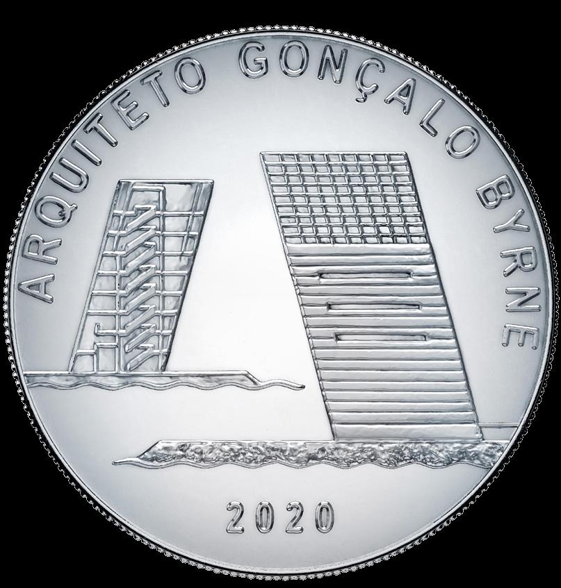 Португалия монета 7,5 евро Гонсалу Бирн, реверс