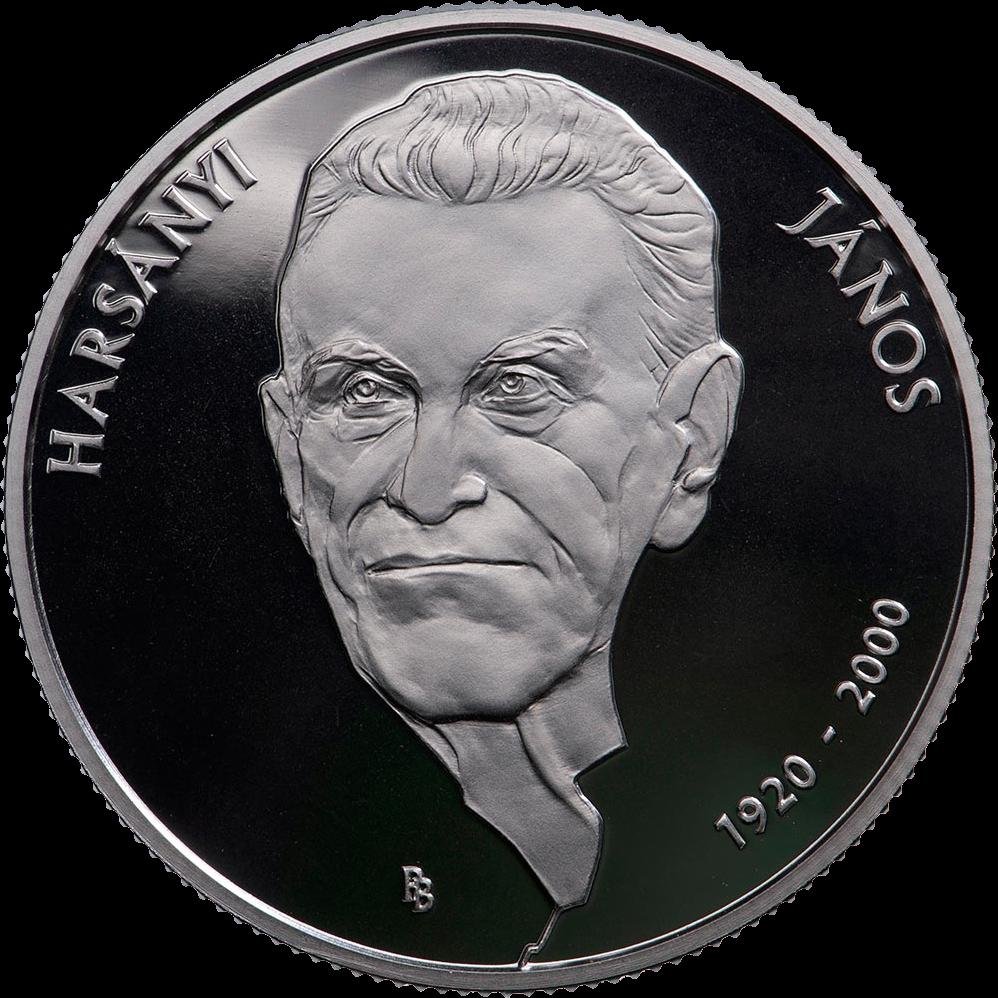 Венгрия монета 10000 форинтов Джон Харсаньи, реверс