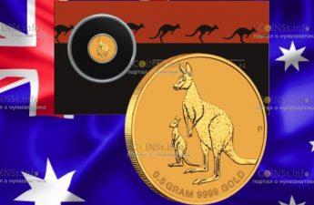 Австралия монета 2 доллара Кенгуру 2020