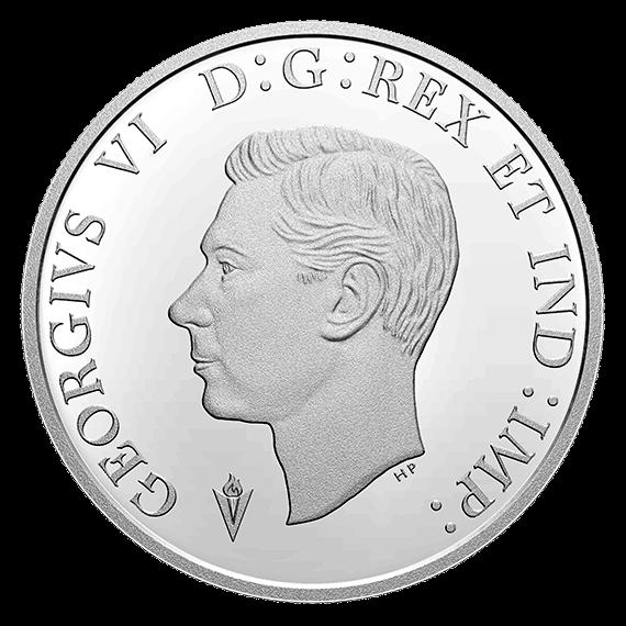 Канада монета 1 доллар Королевский флот Канады, аверс