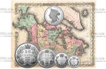 Канада набор монет 150 лет выпуска первых монет Конфедерации