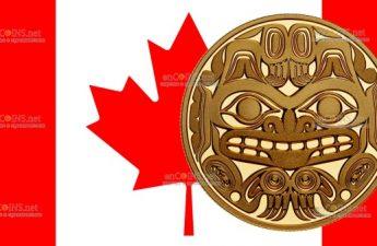 Канада монет 200 долларов Билл Рид