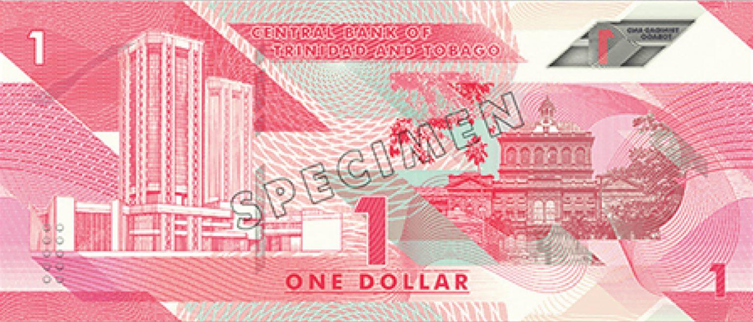Тринидад и Тобаго банктона 1 доллар, 2020 года, оборотная сторона