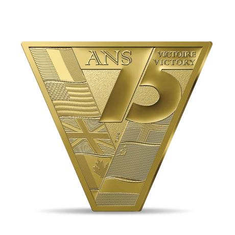 Франция выпускает в обращение монету 200 евро Победа Мира,аверс