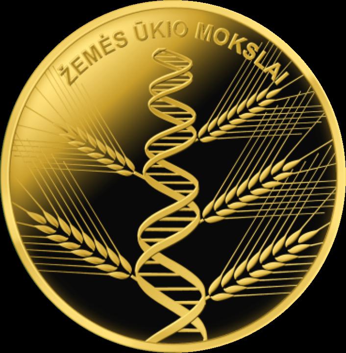 Литва монета 5 евро - Сельское хозяйство, реверс