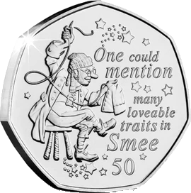 Остров Мэн монета 50 пенсов Смии, реверс