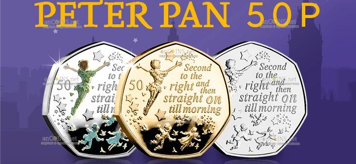 Остров Мэн монета 50 пенсов Вторая справа