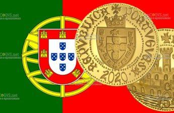 Португалии монета 1.5 евро Пол эскудо Сеуты