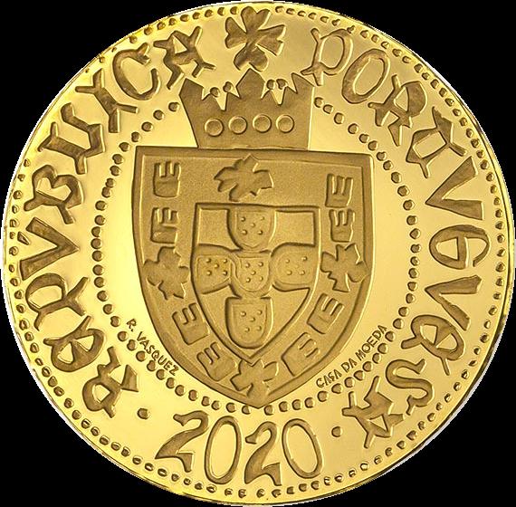 Португалии монета 1.5 евро Пол эскудо Сеуты, реверс