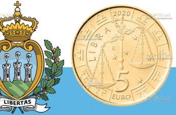 Сан-Марино монета 5 евро, Весы