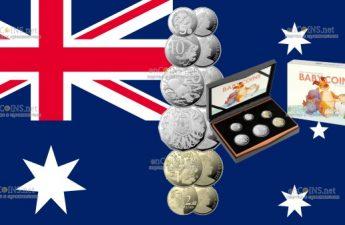 Австралия набор детских монет 2021 года
